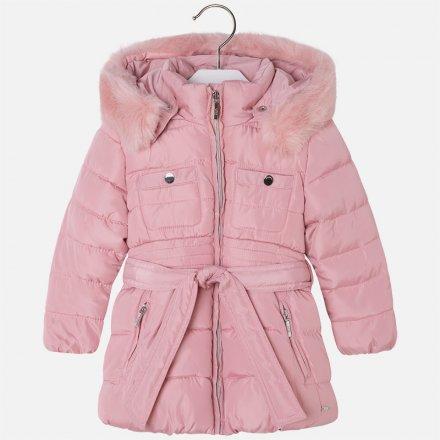Dievčenský zimný kabát