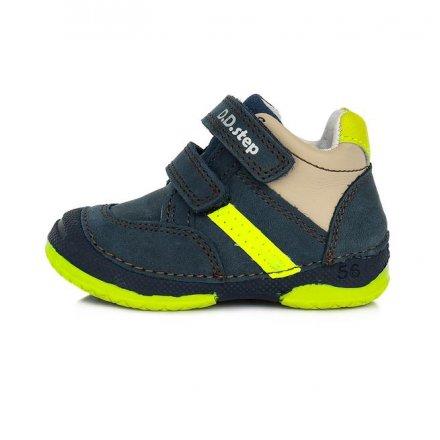 Chlapčenské kožené prechodné topánky-Royal Blue