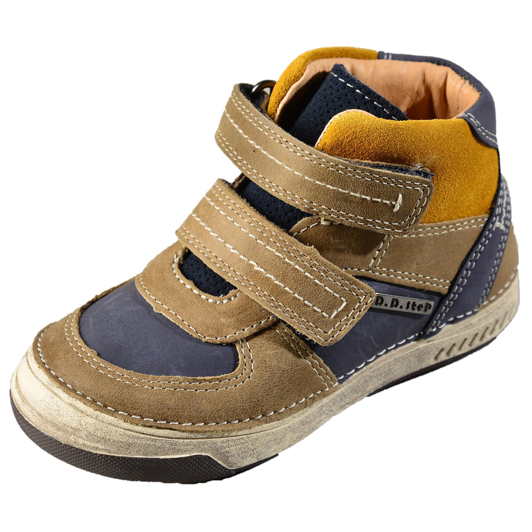 61ddfd83c Chlapčenské kožené prechodné topánky DDstep - 040-26L | Lollipopkids.sk