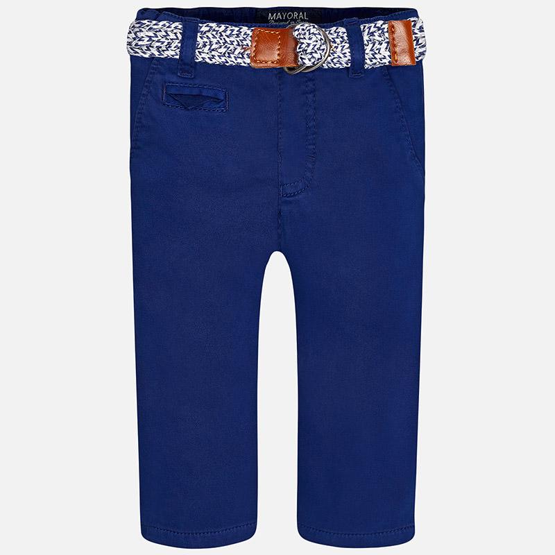 Chlapčenské elegantné nohavice s opaskom