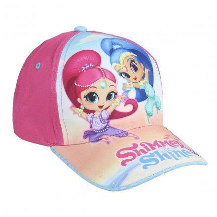 Dievčenská šiltovka s motívom Shimmer and Shine