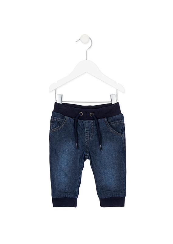 Chlapčenské zateplené nohavice z rifloviny