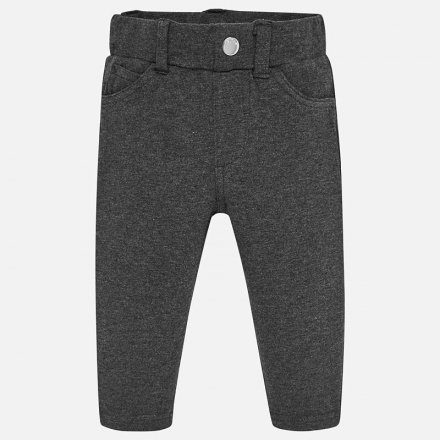 Dievčenské nohavice bez zapínania