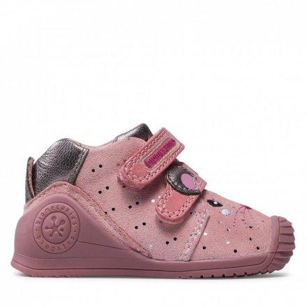 Dievčenské kožené prechodné topánky