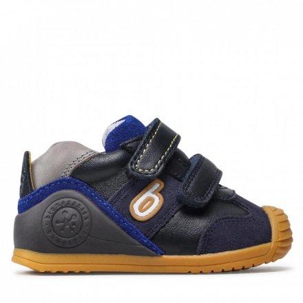 Chlapčenské kožené prechodné topánky