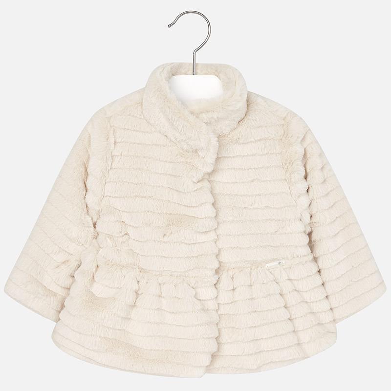 Dievčenský kabátik na chladné dni