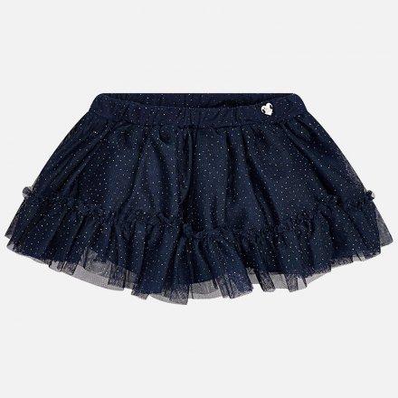 Tylová sukňa s bavlnenou podšívkou