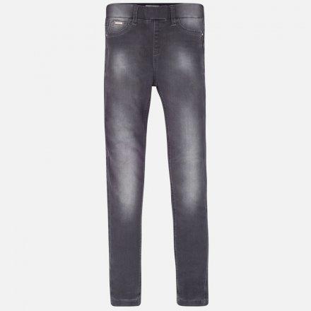 Dievčenské nohavice bez zapínania-Jeggins