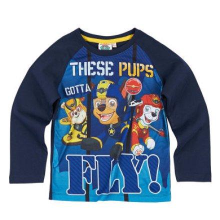 Chlapčenské tričko Paw Patrol s dlhým rukávom