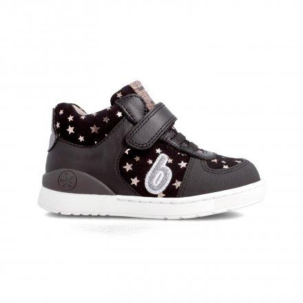 Dievčenské kožené kotníkové prechodné topánky