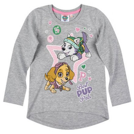Dievčenské tričko Paw Patrol s dlhým rukávom