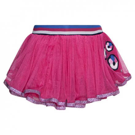 Tylová sukňa s elastickým pásom