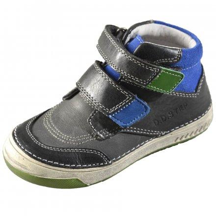 Chlapčenské prechodné kožené topánky