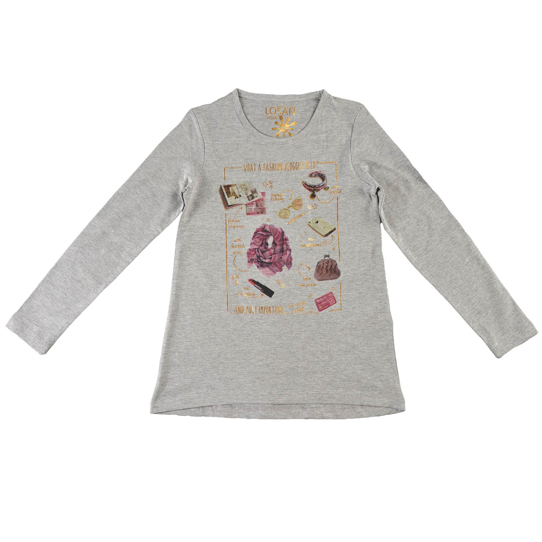fdede51f47981 Dievčenské tričko Losan - 624-1202-300 | Lollipopkids.sk