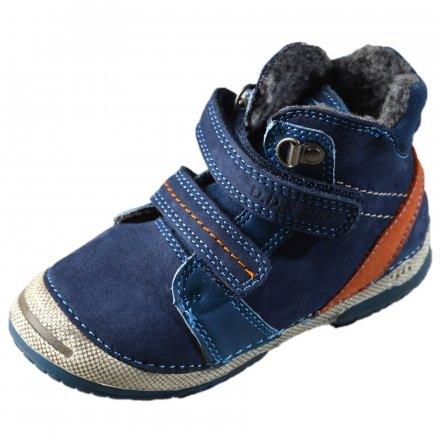 Chlapčenské zimné topánky zateplené s kožušinkou