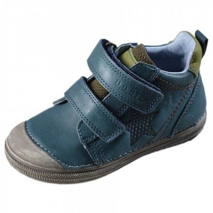 Chlapčenské kožené kotníkové topánky-Royal Blue