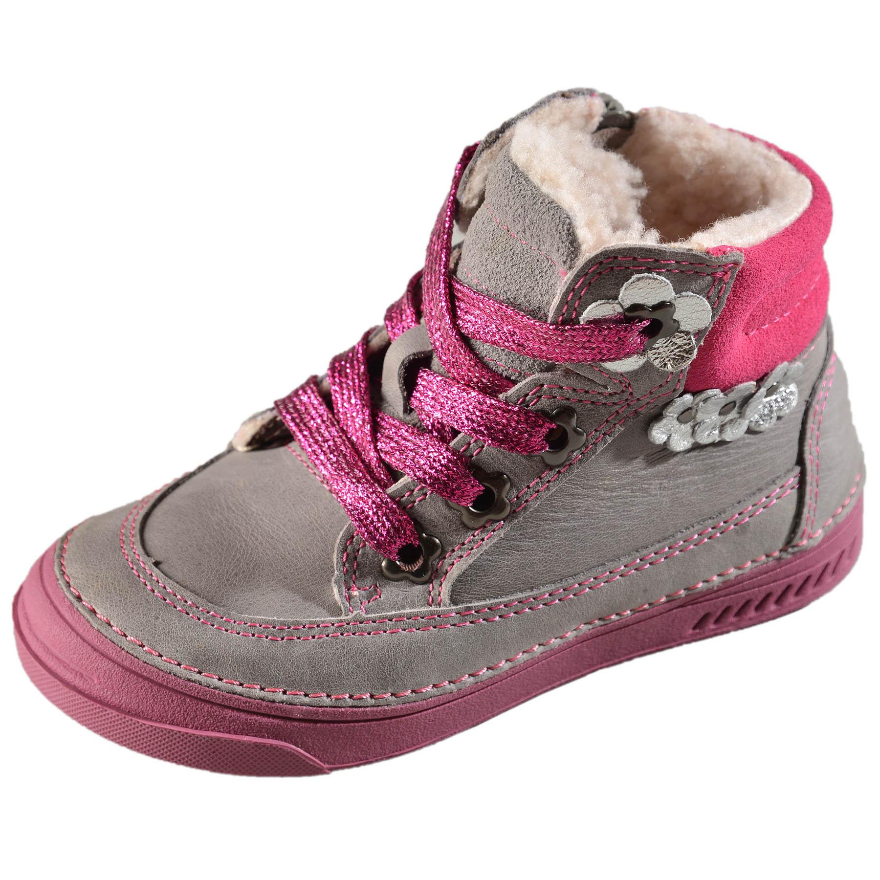 Dievčenské zimné topánky zateplené s kožušinkou DDstep - 040-15DL ... ce7b0b2bf26