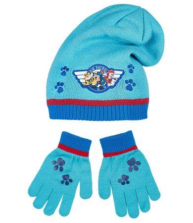 Chlapčenský set čiapka a rukavice PAW PATROL