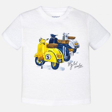 Chlapčenské tričko s krátkym rukávom a s potlačou