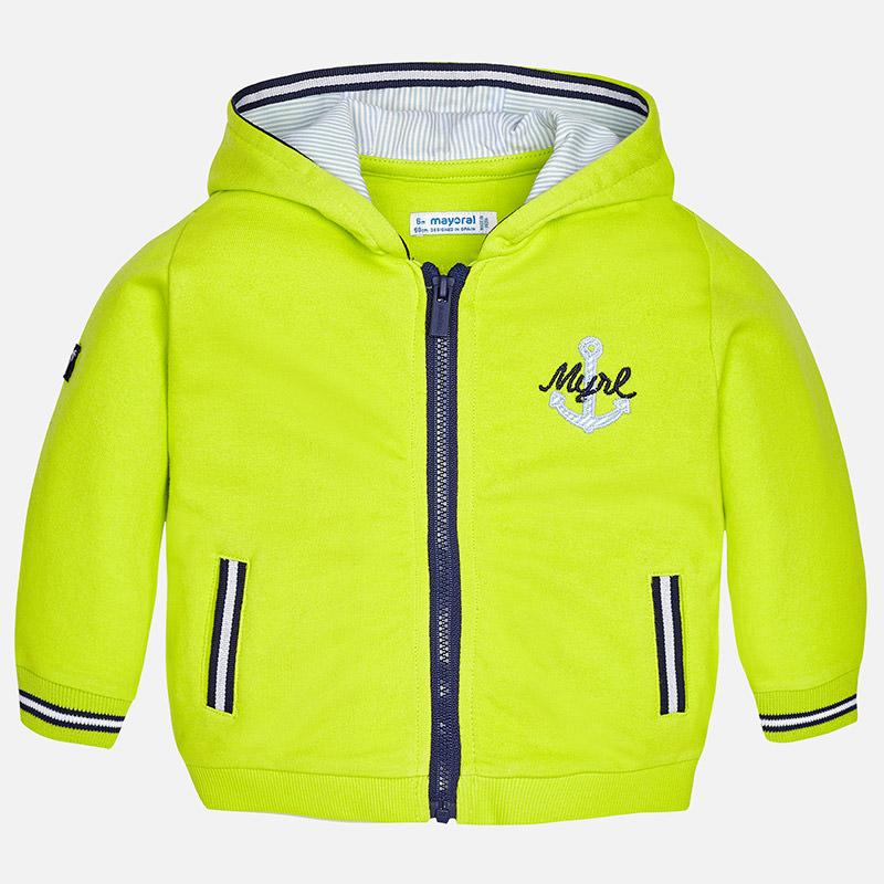 Chlapčenská mikina na zips s kapucňou Mayoral - 01458-051 ... 975b1007681