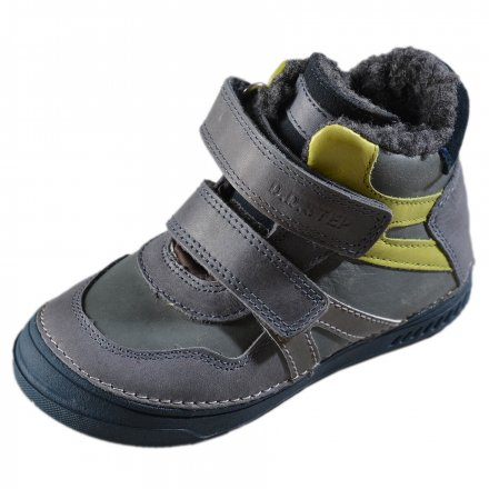 Chlapčenské zimné topánky zateplené s kožušinkou-Dark Grey