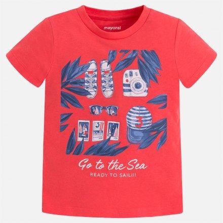 Chlapčenské  letné tričko s krátkym rukávom