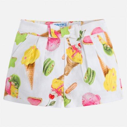 Dievčenské  šortky s letným motívom