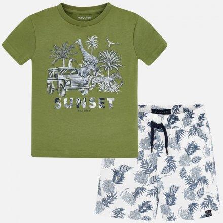 Chlapčenská letná súprava tričko a krátke nohavice
