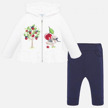 Dievčenská tepláková súprava mikina a nohavice
