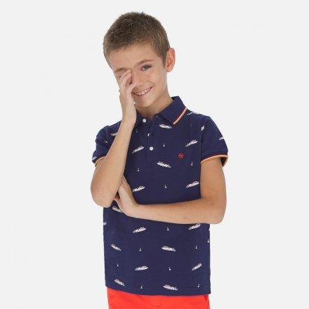 Chlapčenská polokošeľa s krátkym rukávom