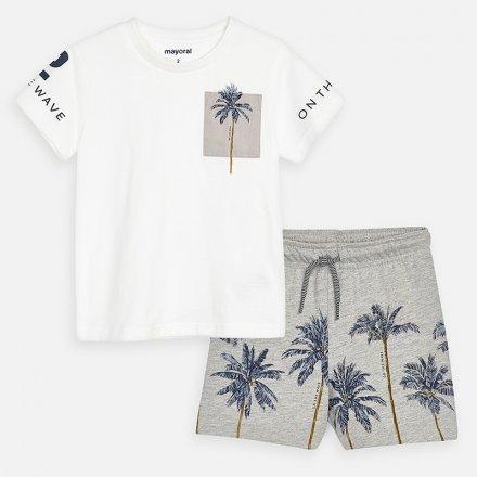 Chlapčenská letná súprava šortky a tričko