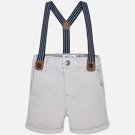Chlapčenské šortky s trakmi