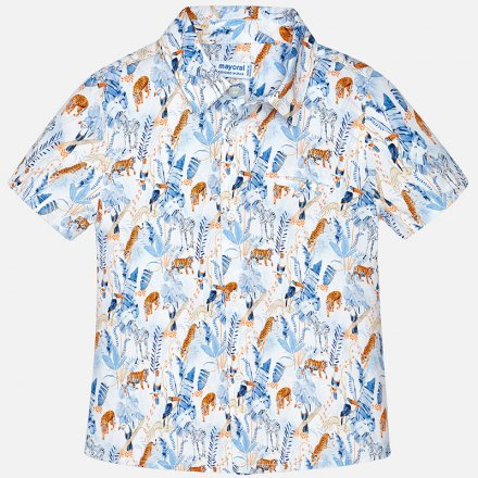 Košeľa s krátkym rukávom  so zvieratami