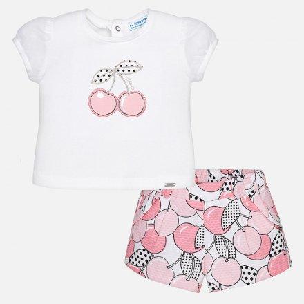 Dievčenská letná súprava šortky a tričko