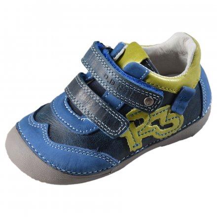 Chlapčenské kožené prechodné topánky-Black