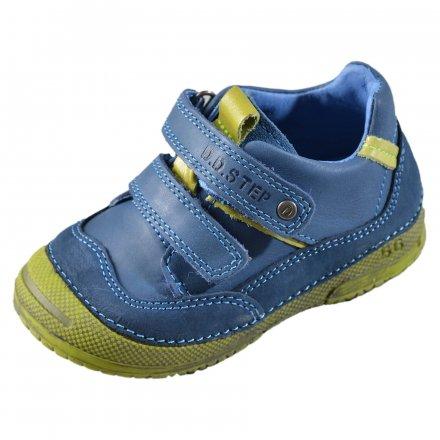 Chlapčenské kožené prechodné topánky-Calypso sky