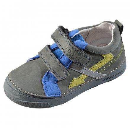 Chlapčenské kožené prechodné topánky-Grey 1