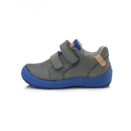 Chlapčenské kožené prechodné BAREFEET topánky-MINT