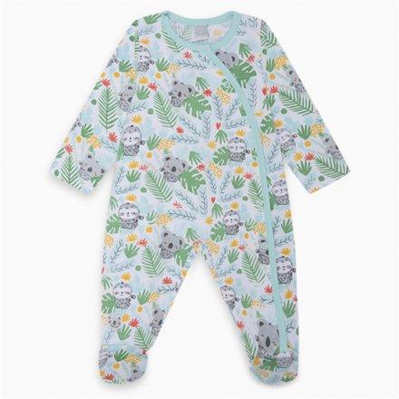 Chlapčenské džersejové kombinézové pyžamo