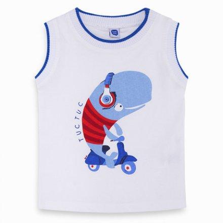 Chlapčenské tričko bez rukávov