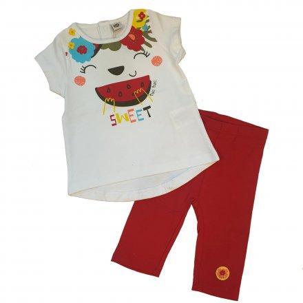 Dievčenská letná súprava tričko a legíny