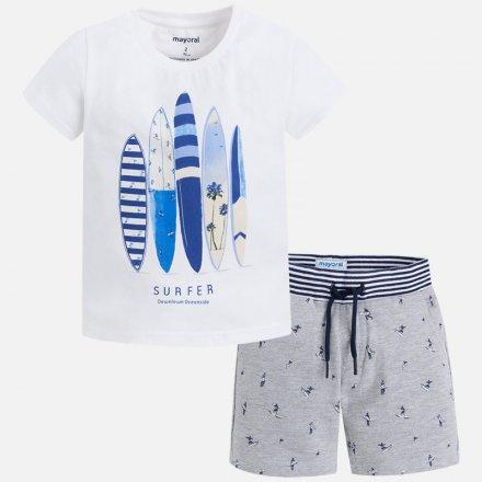 Chlapčenská letná súprava tričko a šortky