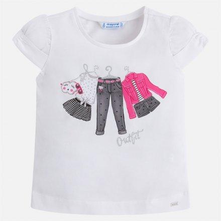 Dievčenské tričko s krátkym rukávom