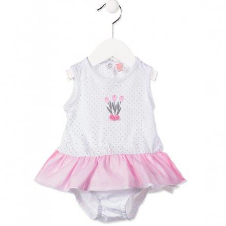 Džersejové šaty pre novorodencov