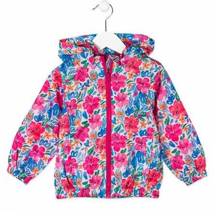 Dievčenská vetrovka s kapucňou na zips