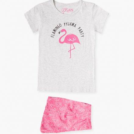 Dievčenské dvojdielne letné pyžamo