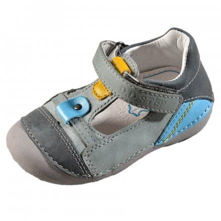 Chlapčenské kožené prechodné topánky-Grey