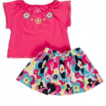 Dievčenská farebná letná súprava