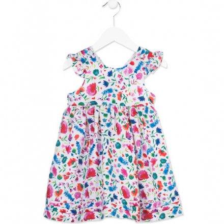 Dievčenské podšité letné šaty