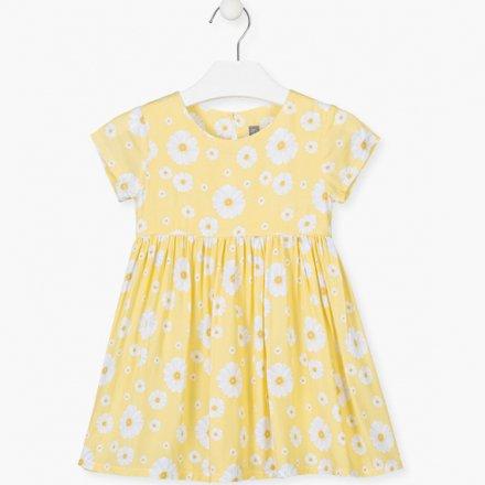Dievčenské kvetinkové šaty